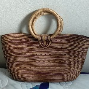 Wicker Tote/Bag
